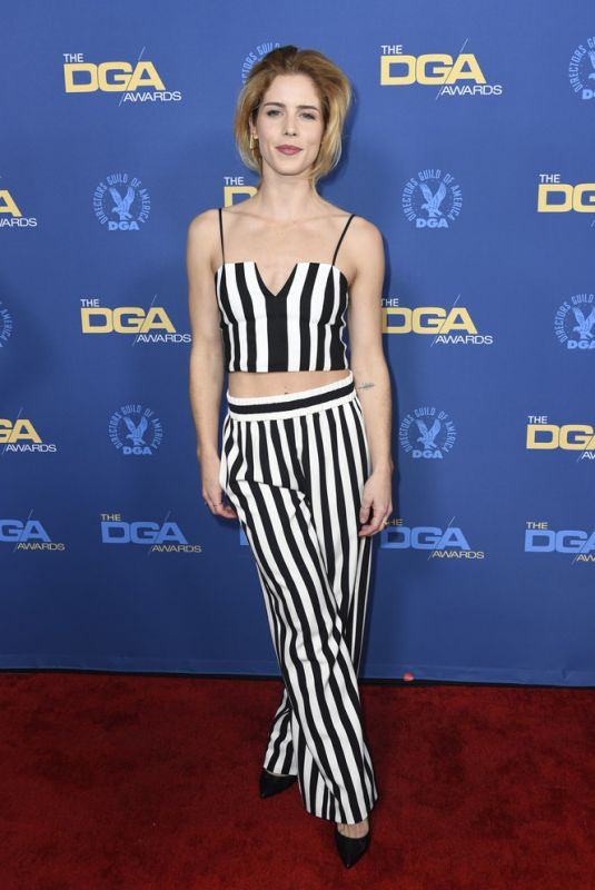 EMILY BETT RICKARDS at Directors Guild of America Awards in Los Angeles 02/02/2019