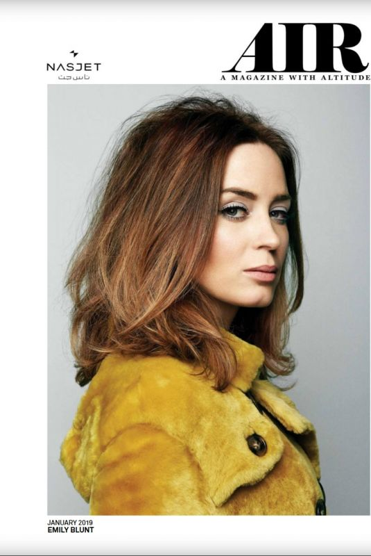 EMILY BLUNT in Air Magazine, January 2019