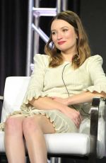 EMILY BROWNING at 2019 Winter TCA Press Tour in Pasadena 02/12/2019
