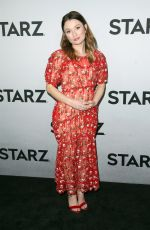 EMILY BROWNING at Starz 2019 Winter TCA All-star Party in Los Angeles 02/12/2019