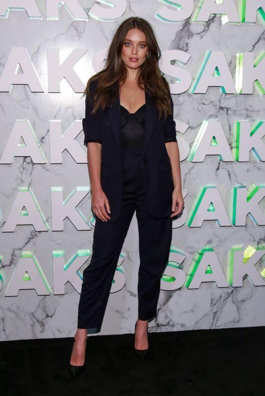 EMILY DIDONATO at Saks Celebration in New York 02/07/2019