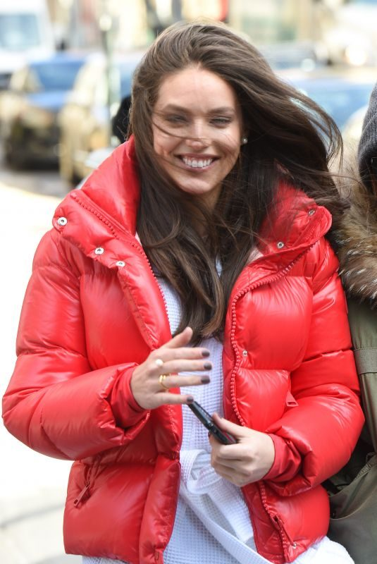 EMILY DIDONATO on the Set of Maybelline Photoshoot in New York 02/14/2019