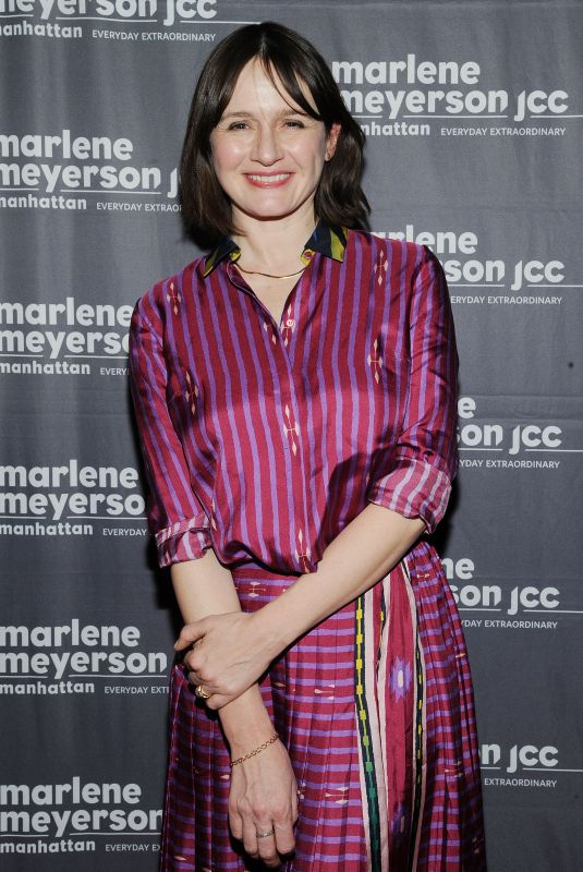 EMILY MORTIMER at To Dust Screening in New York 02/05/2019