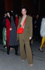 EMILY RATAJKOWSKI Arrives at Tiffany & co Party in New York 02/09/2019