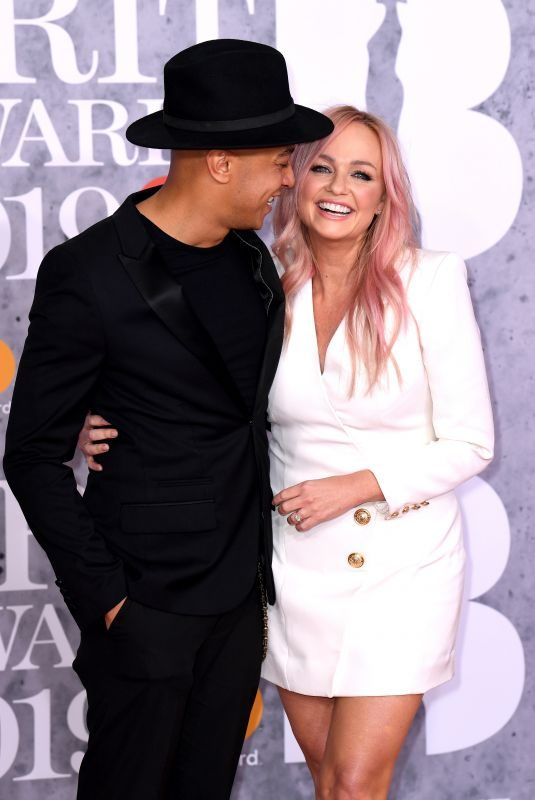 EMMA BUNTON at Brit Awards 2019 in London 02/20/2019