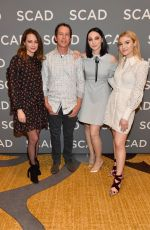 EMMA DUMONT at Scad Atvest in Atlanta 02/08/2019