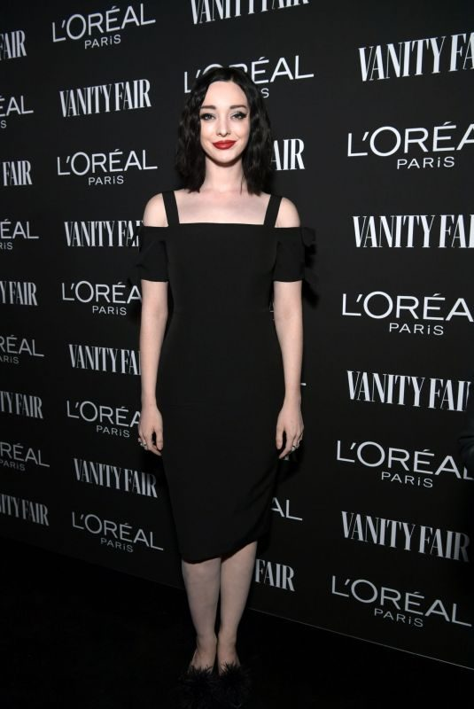 EMMA DUMONT at Vanity Fair & L'Oreal Paris Celebrate New Hollywood in Los Angeles 02/19/2019