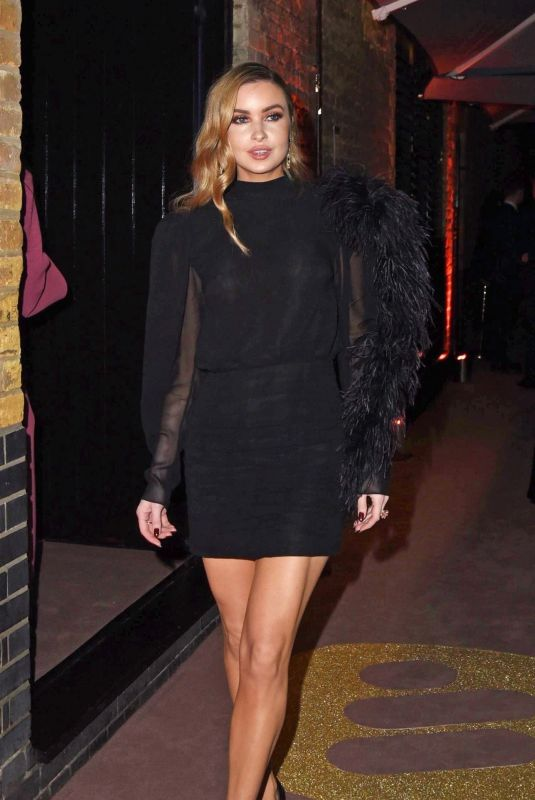 EMMA MILLER at 2019 Brit Awards Party in London 02/20/2019