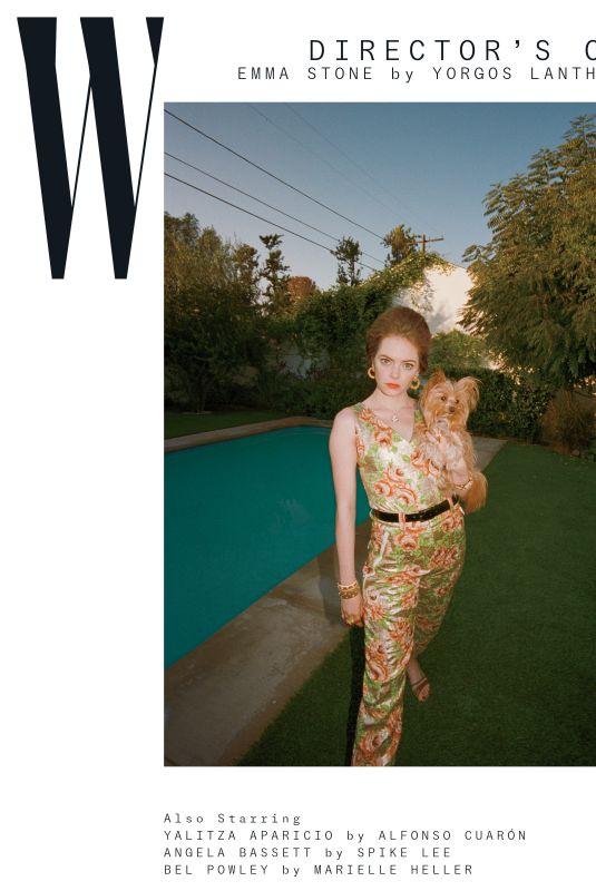 EMMA STONE for W Magazine, 2019