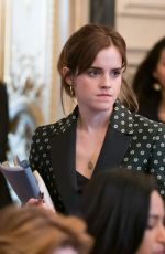 EMMA WATSON at G7 Gender Equality Advisory Council Meeting in Paris 02/19/2019