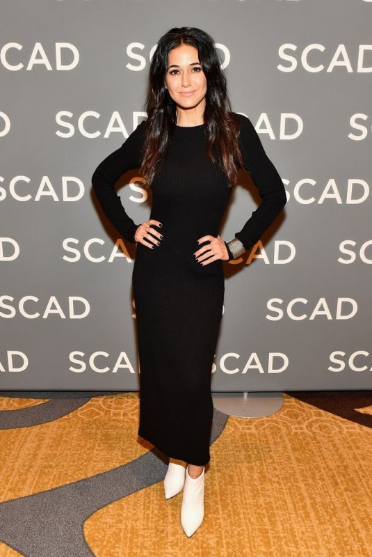 EMMANUELLE CHRIQUI at Scad Atvfest 2019 in Atlanta 02/08/2019