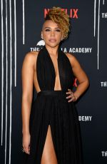 EMMY RAVER-LAMPMAN at The Umbrella Academy Premiere in Hollywood 02/12/2019