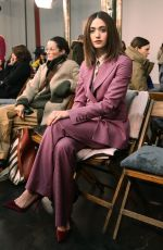 EMMY ROSSUM at Gabriela Hearst Show at New York Fashion Week 02/12/2019