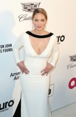 ERIKA CHRISTENSEN at Elton John Aids Foundation Oscar Party in Hollywood 02/24/2019