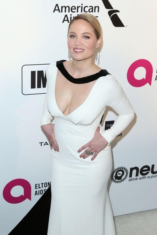 ERIKA CHRISTENSEN at Elton John Aids Foundation Oscar Party in Hollywood 02/24/2019