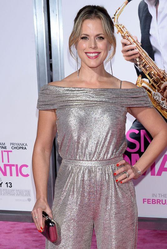 ERIN CARDILLO at Isn't It Romantic Premiere in Los Angeles 02/11/2019