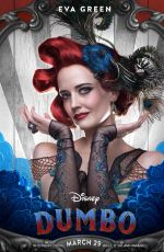 EVA GREEN - Dumbo Posters and Trailer
