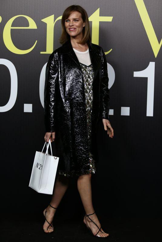 EVA HERZIGOVA at Moncler Genius Show at Milan Fashion Week 02/20/2019