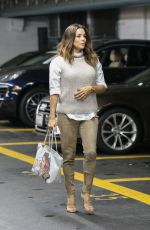 EVA LONGORIA at Beverly Hills Nail Design 02/04/2019