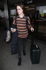 EVAN RACHEL WOOD at Los Angeles International Airport 02/02/2019