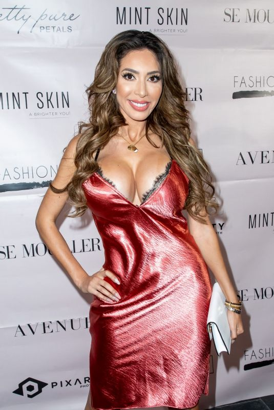 FARRAH ABRAHAM at SE Mouiller Lingerie Event in Hollywood 02/13/2019