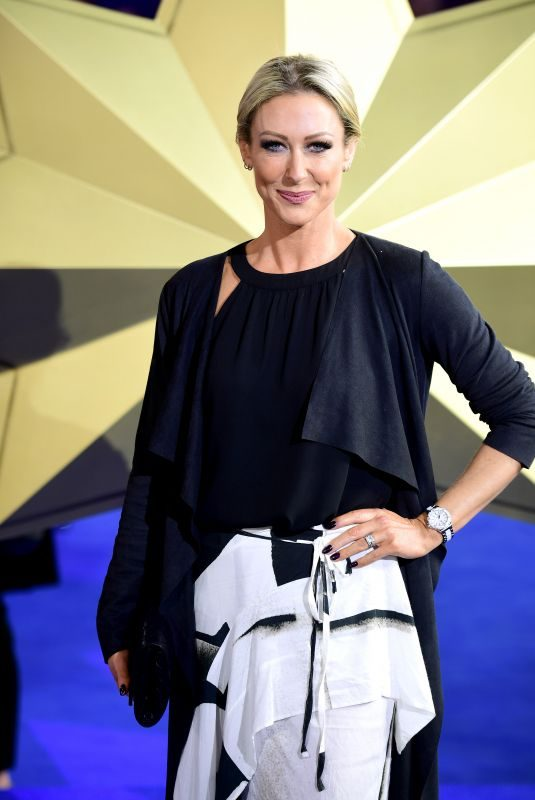 FAYE TOZER at Captain Marvel Premiere in London 02/27/2019