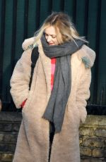 FEARNE COTTON Out and About in London 01/30/2019