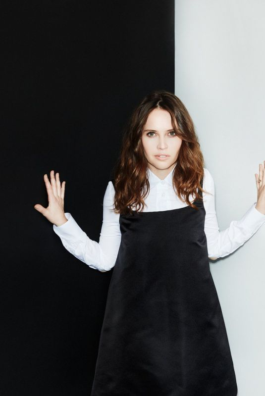 FELICITY JONES in Stylist Magazine, February 2019