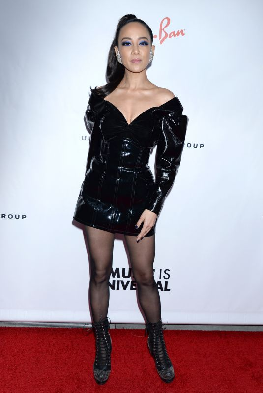 FIONA XIE at Universal Music Group Grammy After-party in Los Angeles 02/10/2019