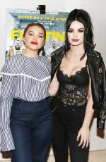 FLORENCE PUGH and SARAYA BEVIS at Fighting with My Family Tastemaker Screening in Los Angeles 02/20/2019