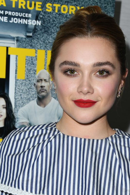 FLORENCE PUGH at Fighting with My Family Tastemaker Screening in Los Angeles 02/20/2019