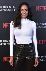 FRANCES AATERNIR at The Boy Who Harnessed the Wind Screening in London 02/19/2019