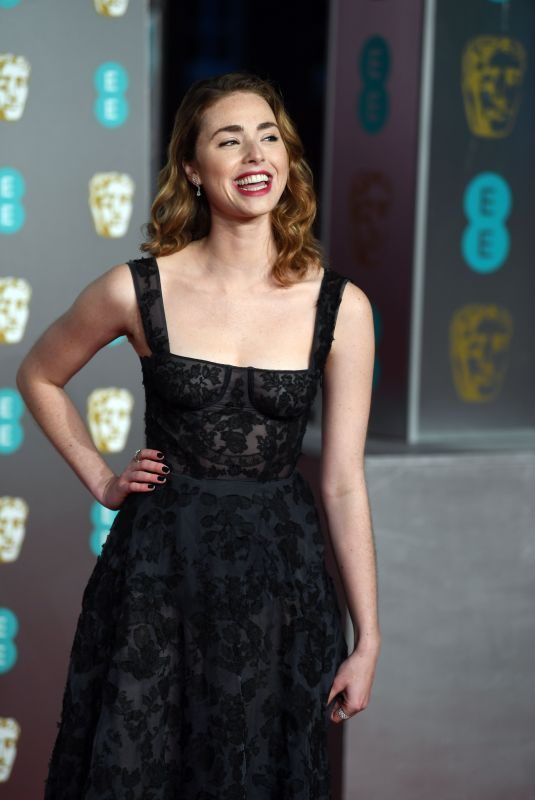 FREYA MAVOR at BAFTA 2019 Awards in London 02/10/2019