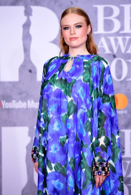 FREYA RIDINGS at Brit Awards 2019 in London 02/20/2019