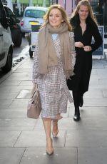 GERI HALLIWELL Arrives at Charlotte Street Hotel in London 01/31/2019