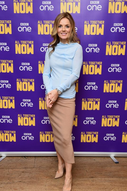 GERI HALLIWELL at All Together Now Screening in London 01/31/2019