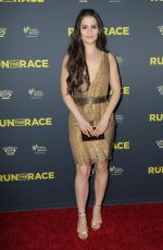 GIANNA SIMONE at Run the Race Premiere in Hollywood 02/11/2019