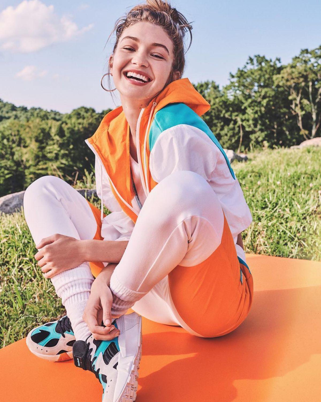 92eb5d02882 GIGI HADID for Reebok x Gigi 2019 Campaign - HawtCelebs