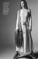 GIGI HADID in Vogue Magazine, March 2019