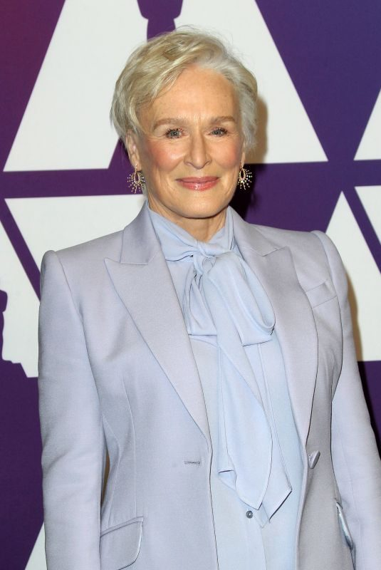 GLENN CLOSE at 91st Oscars Nominees Luncheon in Beverly Hills 04/02/2019