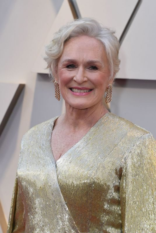 GLENN CLOSE at Oscars 2019 in Los Angeles 02/24/2019