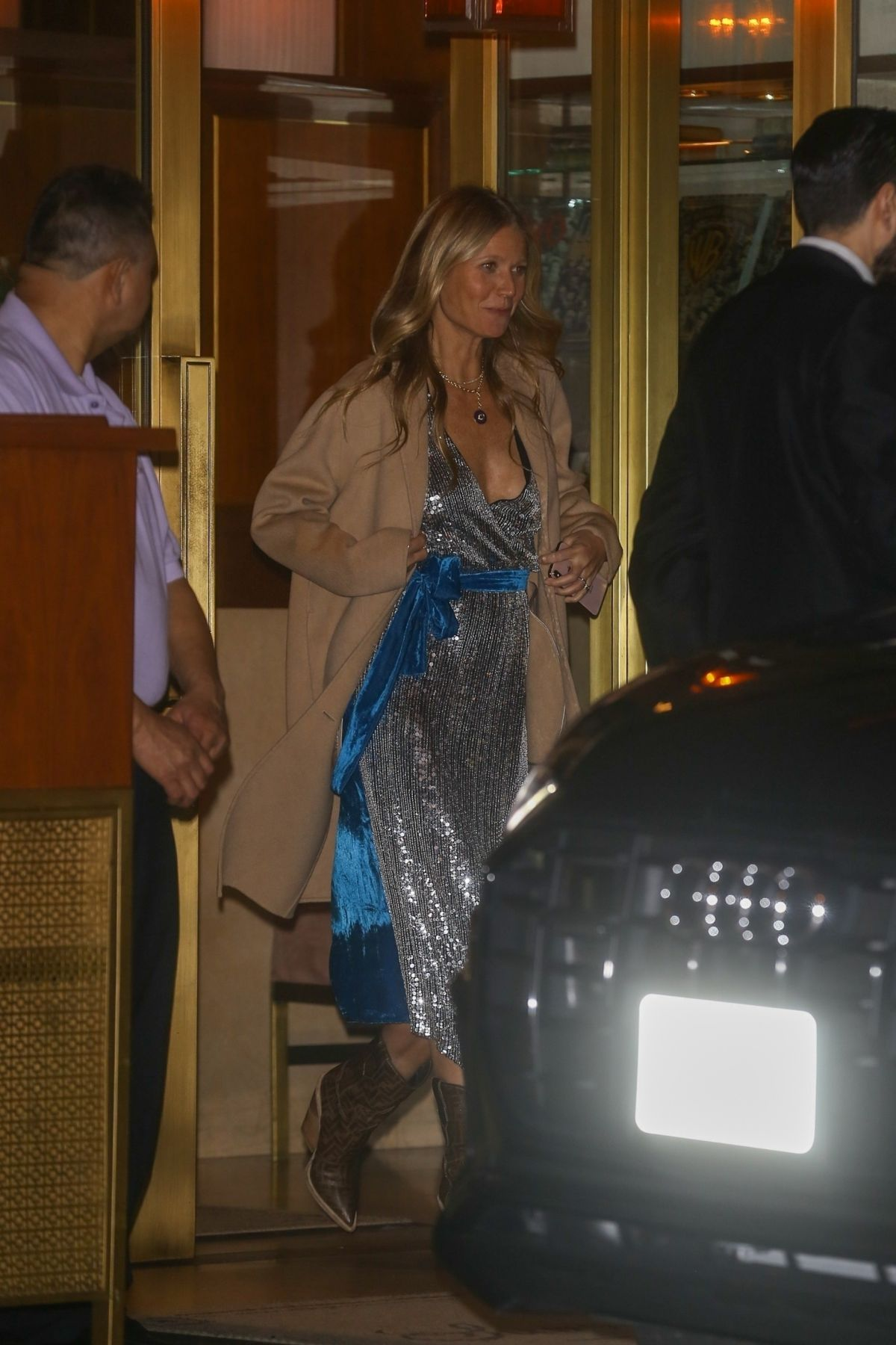 GWYNETH PALTROW Leaves Sunset Tower Hotel in Hollywood 02/10/2019