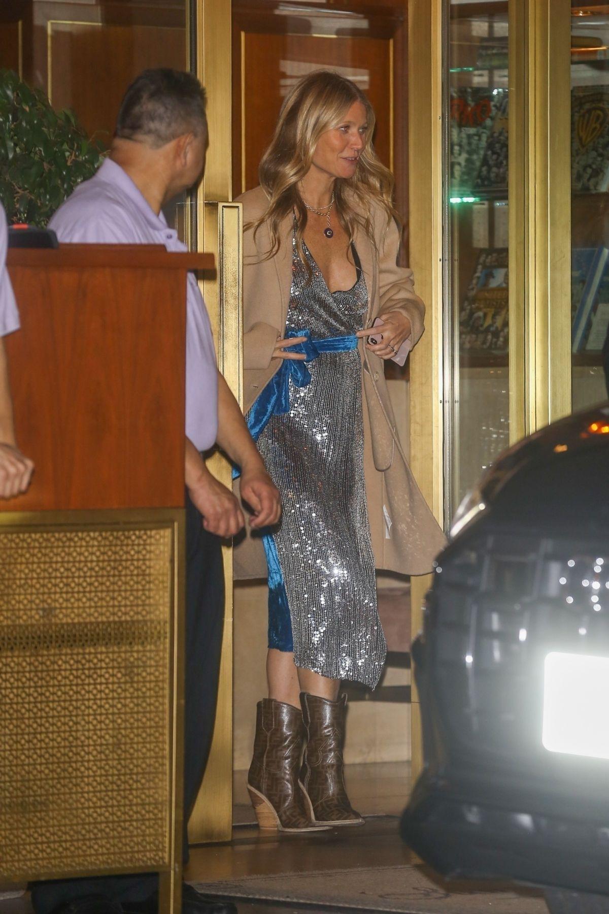 Gwyneth Paltrow Leaves Sunset Tower Hotel Hollywood