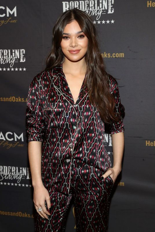 HAILEE STEINFELD at ACM Lifting Lives Presents: Borderline Strong Concert in Thousand Oaks 02/11/2019