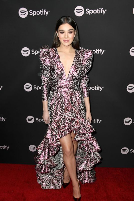 HAILEE STEINFELD at Spotify Best New Artist 2019 Event in Los Angeles 02/07/2019