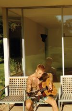 HAILEY and Justin BIEBER in Vogue Magazine, March 2019