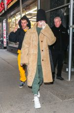 HAILEY and Justin BIEBER Out in New York 02/17/2019