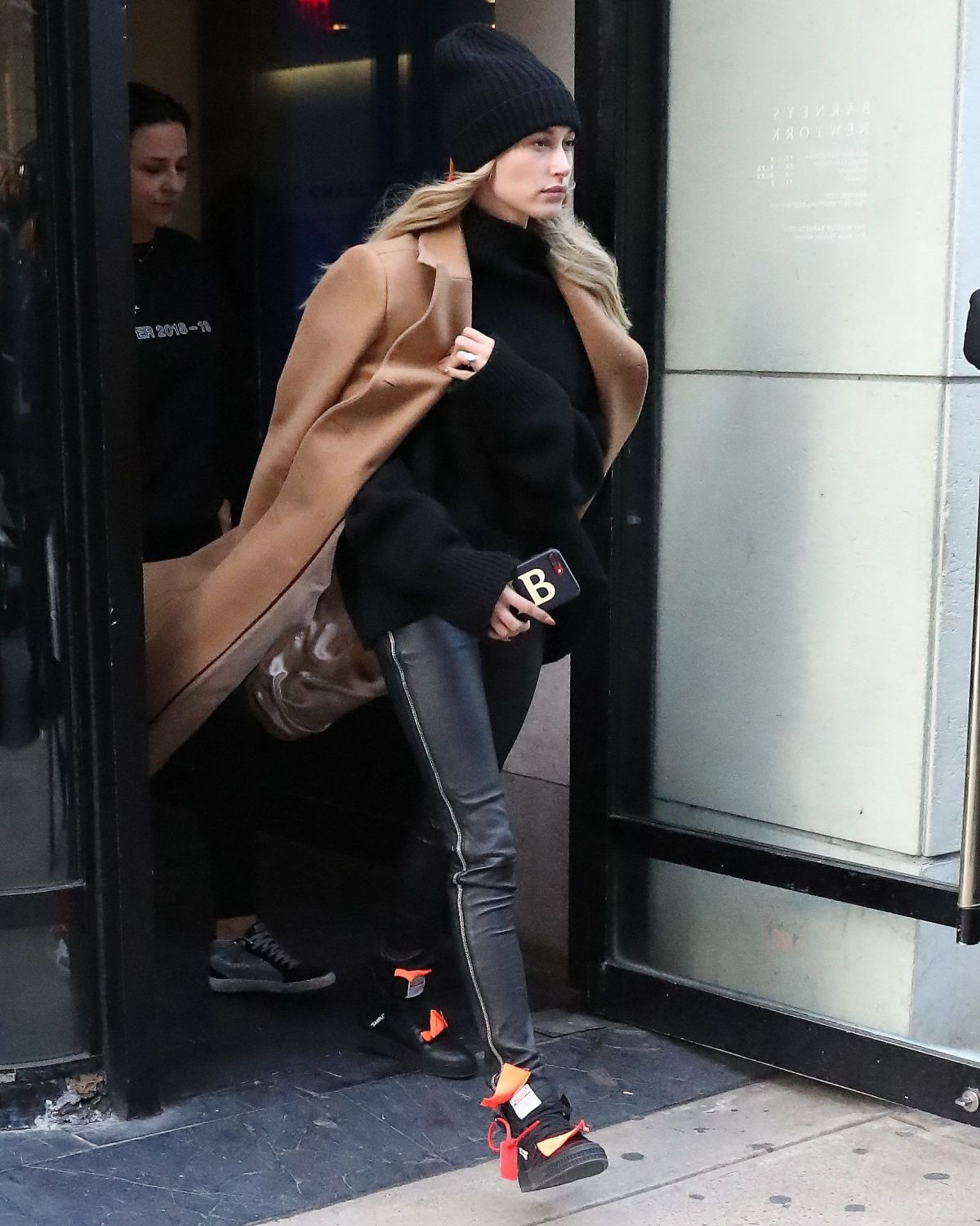 HAILEY BIEBER Leaves Her Apartment In New York 02/10/2019