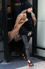 HAILEY BIEBER Out and About in New york 02/10/2019
