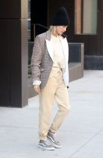 HAILEY BIEBER Out and About in New York 02/26/2019